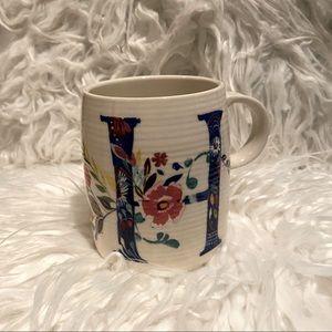 """Starla Hoffmann """"H"""" Mug"""